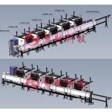 HY-R1008 变压器五绕组绕线自动化一体机