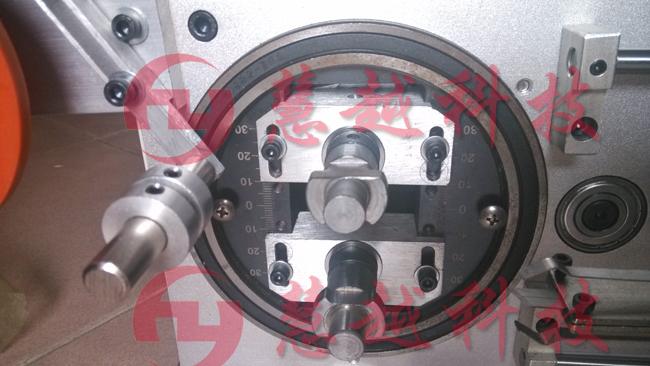 圆形磁环自动包胶机操作视频