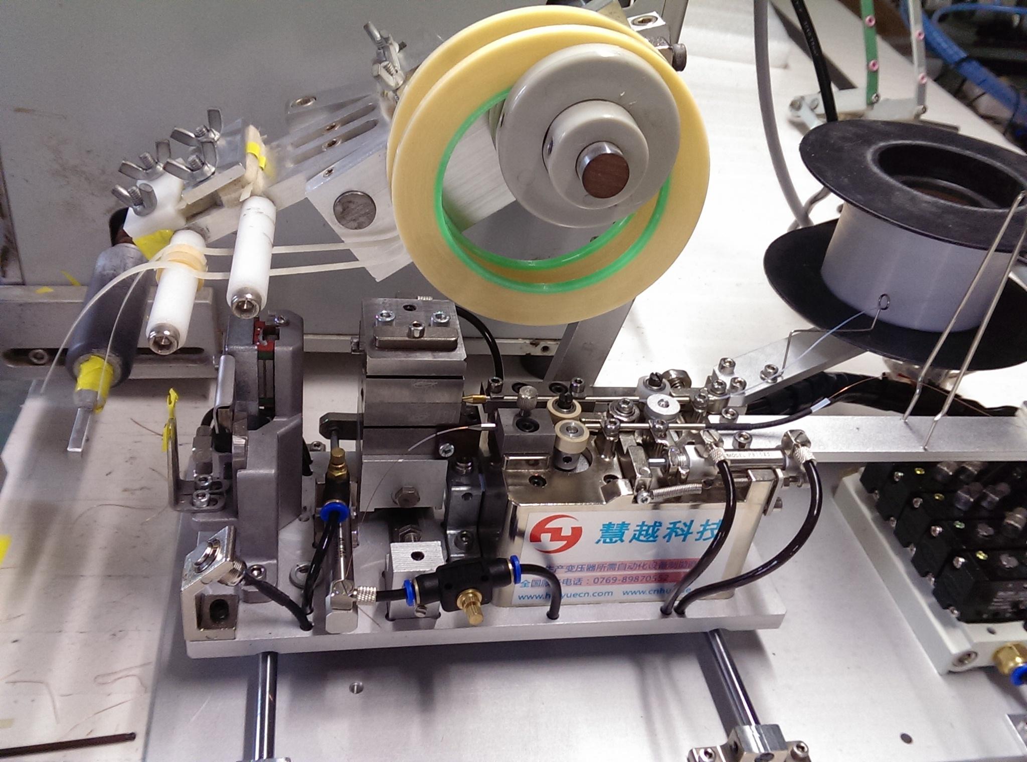 行业领先科技变压器自动穿套管机 单色双色多股线