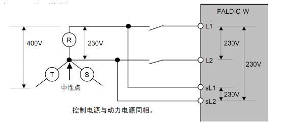 全自动绕线机控制器电源图