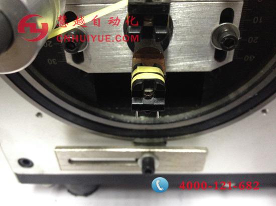 滤波器UU9.8双槽自动包胶机操作视频(稳定.精准)