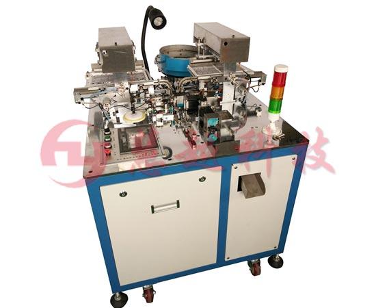 吸附式变压器磁芯组装机磁芯包胶测试一体机