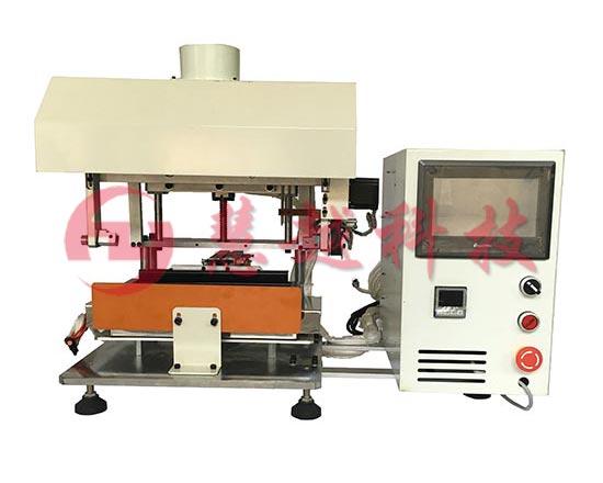 翻转型平移式焊锡机PLC控制高频浸锡机变压器镀锡机