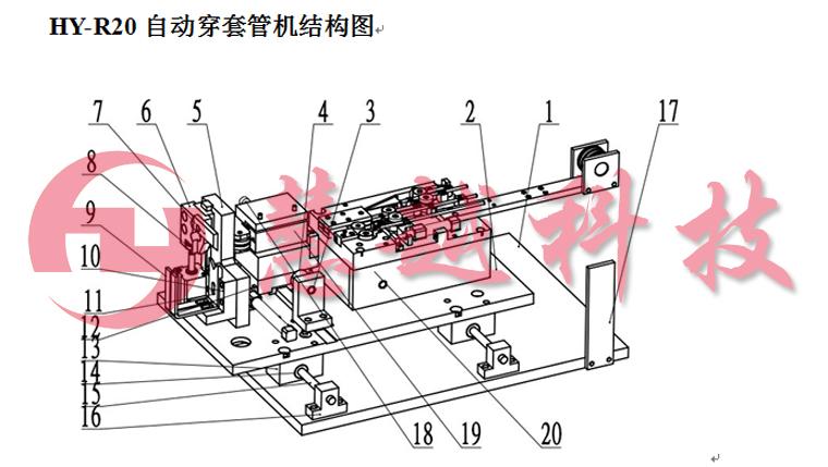 自动穿套管机结构图